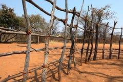 Il pascolo recinta la Namibia immagine stock libera da diritti