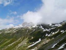 Il passaggio di spluegen in Svizzera Immagine Stock Libera da Diritti