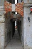 Il passaggio stretto a Venezia, Italia Fotografia Stock