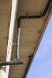 Il passato dell'installazione di vista ripulisce (CO) per il sistema del tubo di scarico dell'HDPE Fotografia Stock Libera da Diritti