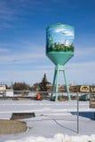 Il passato di Alberta rurale ha descritto Fotografie Stock