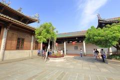 Il patio del corridoio principale del tempio di nanputuo, adobe rgb Fotografie Stock Libere da Diritti