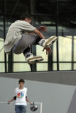 Il pattino salta 2. Fotografie Stock