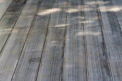 Il pavimento di legno Fotografie Stock Libere da Diritti
