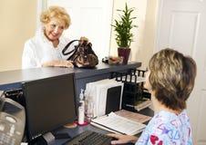 Il paziente verifica Fotografia Stock