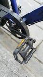 Il pedale della bicicletta fotografia stock