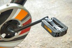 Il pedale di plastica della bicicletta immagine stock libera da diritti