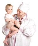 Il pediatrist Fotografie Stock Libere da Diritti