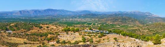 Il Peloponneso antico Immagini Stock