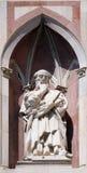 IL Pensatore ο φιλόσοφος, καθεδρικός ναός της Φλωρεντίας Στοκ Φωτογραφία