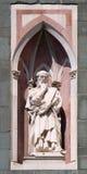 IL Pensatore ο φιλόσοφος, καθεδρικός ναός της Φλωρεντίας Στοκ φωτογραφία με δικαίωμα ελεύθερης χρήσης