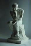 Il pensatore da Auguste Rodin immagini stock libere da diritti