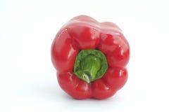 Il peperone dolce rosso isolato Immagine Stock Libera da Diritti