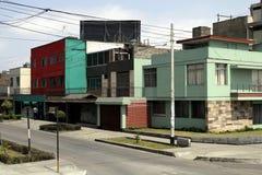 Il Perù di Lima - casa calma Fotografia Stock