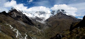 Il Perù - Huascaran immagine stock libera da diritti