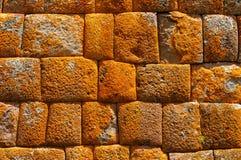 Il Perù, valle sacra, rovine del Inca di Pisaq Immagini Stock