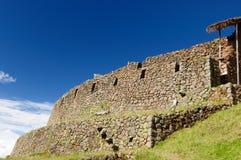 Il Perù, valle sacra, rovine del Inca di Pisaq Fotografia Stock Libera da Diritti