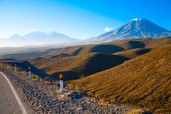 Il Perù, Volcano El Misti Fotografia Stock