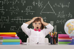 Il per la matematica non è facile Fotografia Stock