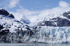 Il percorso del ghiacciaio Immagini Stock