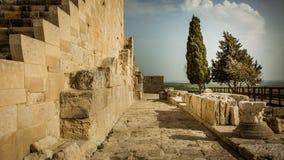 Il percorso lungo le pareti antiche Fotografie Stock Libere da Diritti