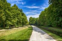 Il percorso solo di Chantilly Immagine Stock