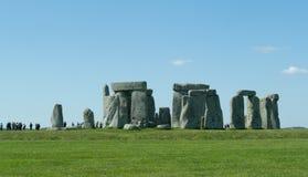 Il percorso a Stonehenge - sito del patrimonio mondiale dell'Unesco Immagine Stock Libera da Diritti