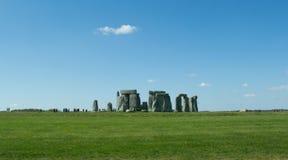 Il percorso a Stonehenge - sito del patrimonio mondiale dell'Unesco Fotografia Stock