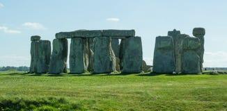 Il percorso a Stonehenge - sito del patrimonio mondiale dell'Unesco Fotografie Stock Libere da Diritti