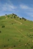 Il percorso sulla collina Fotografie Stock Libere da Diritti