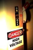 Il pericolo! Immagine Stock Libera da Diritti
