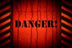 Il pericolo royalty illustrazione gratis