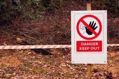Il pericolo! Immagini Stock