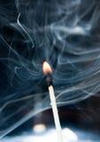 Il pericolo del fuoco Fotografia Stock