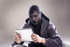 Il pericolo del Internet Fotografia Stock