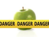 Il pericolo dell'alimento Fotografia Stock
