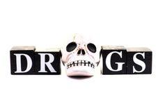 Il pericolo della droga Fotografie Stock Libere da Diritti