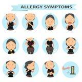 Il pericolo delle allergie Fotografia Stock Libera da Diritti