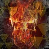 Il pericolo nucleare Fotografia Stock