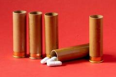 Il pericolo - pillole Fotografia Stock Libera da Diritti