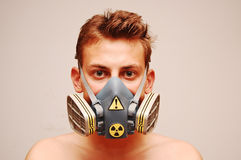 Il pericolo tossico Fotografia Stock