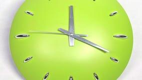 Il periodo di digiuno dell'orologio ha zumato muovendo in avanti l'alta velocità stock footage