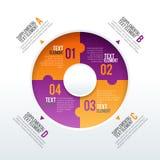 Il perno parte Infographic Immagini Stock