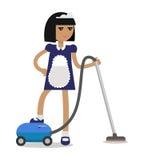 Il personale di pulizia della Camera Vector il concetto royalty illustrazione gratis