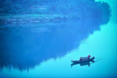 Il pescatore Fotografie Stock Libere da Diritti