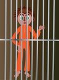 Il pezzo da galera Immagini Stock