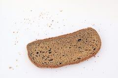 Il pezzo di pane Fotografia Stock Libera da Diritti