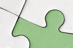 Il pezzo verde Immagini Stock