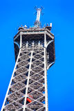 Il più alta bella torre Eiffel a Parigi Fotografie Stock