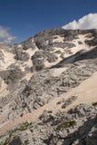 Il più alto picco alle alpi albanesi Fotografie Stock Libere da Diritti